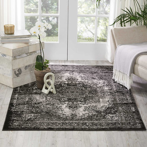 Nourison Aria Oriental Vintage Area Rug, 3 Feet 11 Inches by 5 Feet 11 Inches (3'11
