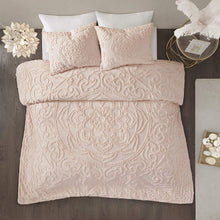 "Madison Park Laetitia Shabby Chic Cozy All Season Comforter Cover Bed Set with Matching Shams, King/Cal King(104""x92"")"