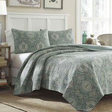 Tommy Bahama Turtle Cove Quilt Set, Green
