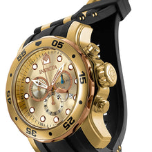 Invicta Men's 17884 Pro Diver 18k Gold Ion-Plated Stainless Steel Chronograph Watch
