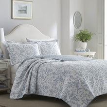 Laura Ashley Home Amberley Chic Luxury Premium Ultra Soft Quilt Coverlet, Comfortable 3 Piece Bedding Set, All Season Stylish Bedspread, King