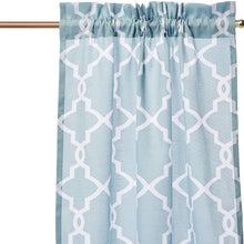 "PAIRS TO GO Vickery Rod Pocket Curtains for Living Room, Double Panel, 28"" x 84"""