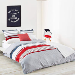 Lacoste Auckland Comforter Set, Chili Pepper