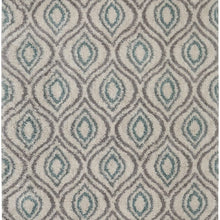 Mohawk Home Laguna Ogee Waters Woven Rug, 8'x10', Green
