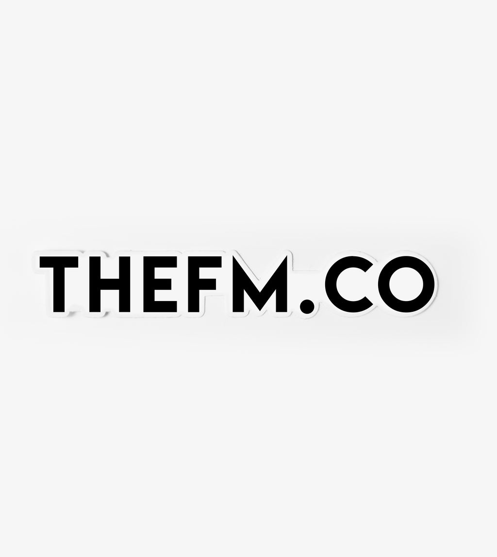"thefm.co - Large ""Sticker"""
