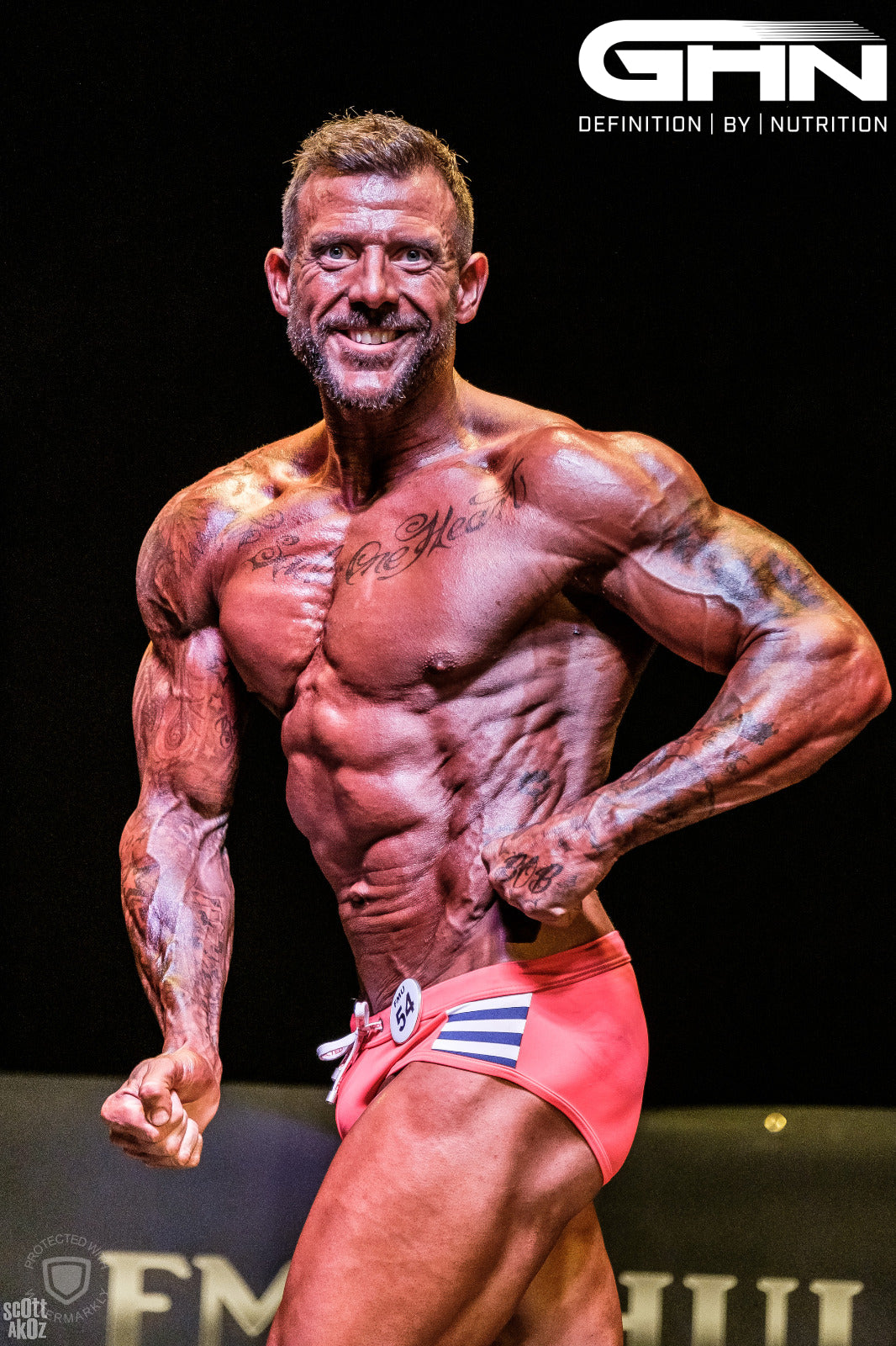 Paul Remmer Wins At Future Muscle Union
