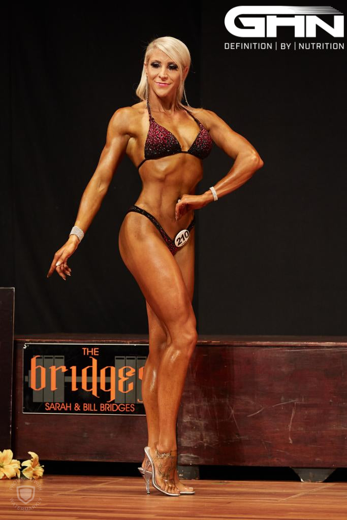 Hayley Fenning 6th At UKBFF British Finals