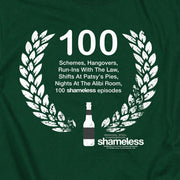 Shameless 100 Episodes Adult Short Sleeve T-Shirt