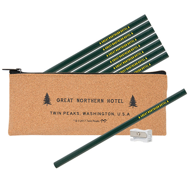 Twin Peaks Great Northern Pencil Pouch