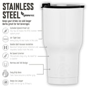 Billions Axe Capital Horizontal Logo 20 oz RTIC Tumbler