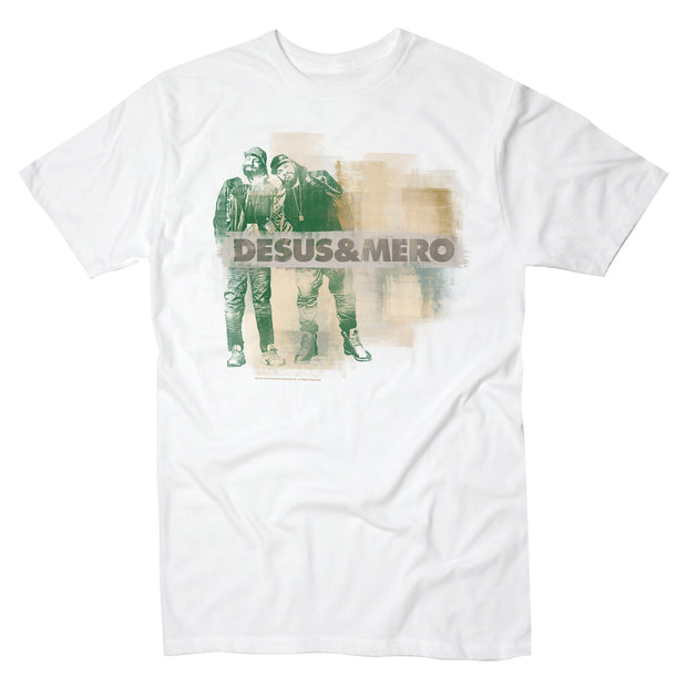Desus & Mero Washed Wall Adult Short Sleeve T-Shirt
