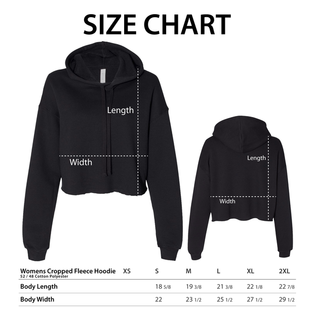 Desus & Mero Womens Cropped Fleece Hoodie