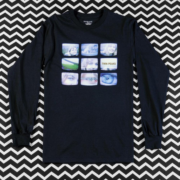 Twin Peaks Laura Palmer VHS Adult Long Sleeve T-Shirt