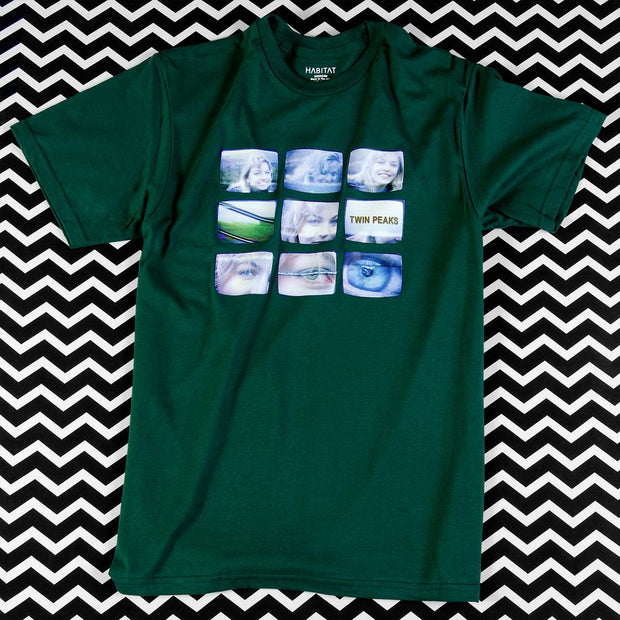 Twin Peaks Laura Palmer VHS Adult Short Sleeve T-Shirt