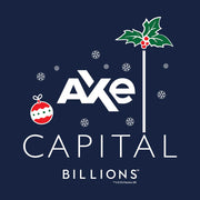 Billions Festive Axe Capital Stacked Logo Fleece Crewneck Sweatshirt