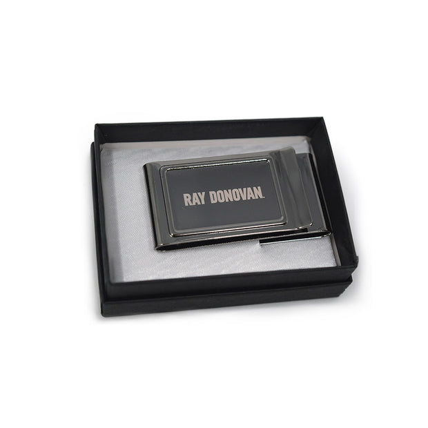 Ray Donovan Etched Logo Gunmetal Money Clip