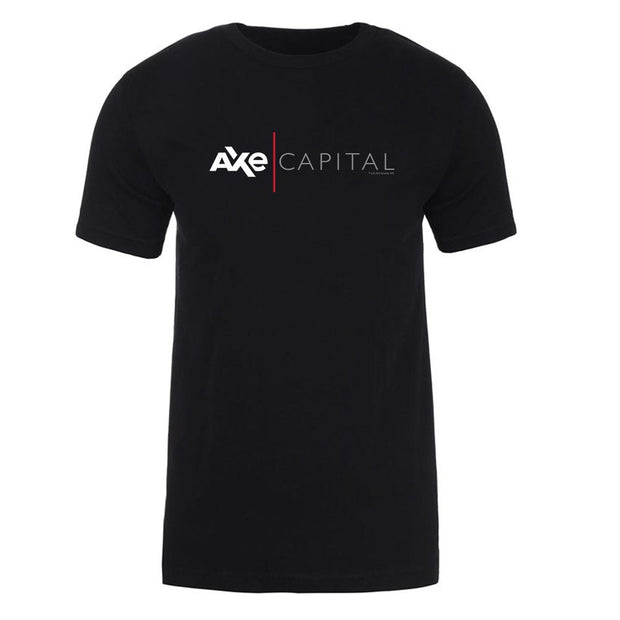 Billions Axe Capital Horizontal Logo Adult Short Sleeve T-Shirt