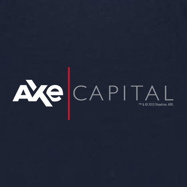 Billions Axe Capital Horizontal Logo Ladies Racerback Tank
