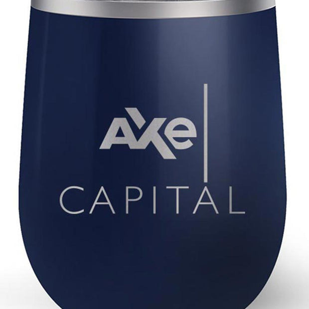 Billions Axe Capital Stacked Logo 12 oz Stainless Steel Wine Tumbler