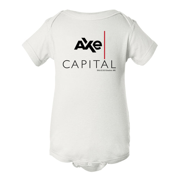 Billions Axe Capital Stacked Baby Bodysuit