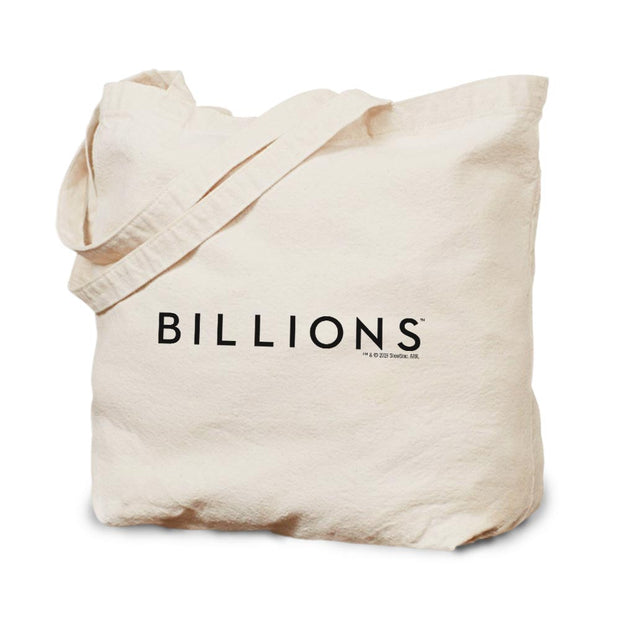 Billions Gold Logo Canvas Tote Bag