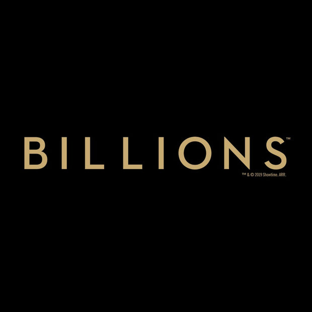 Billions Gold Logo Men's Tri-Blend Short Sleeve T-Shirt
