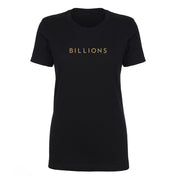 Billions Gold Logo Women's Short Sleeve T-Shirt