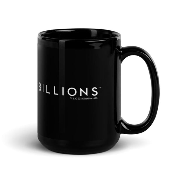 Billions What Would Wags Do? Black Mug