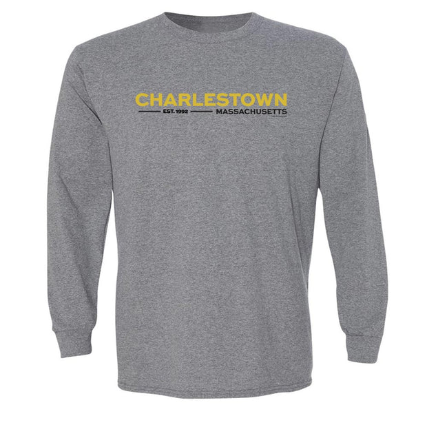 City on a Hill Charlestown Massachusetts Adult Long Sleeve T-Shirt
