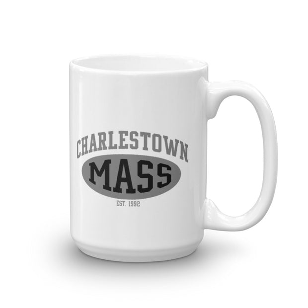 City on a Hill Charlestown Mass White Mug
