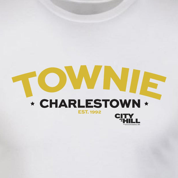 City on a Hill Charlestown Townie Arch Adult Short Sleeve T-Shirt
