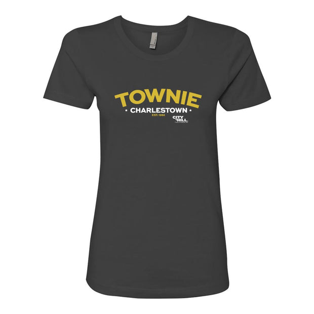 City on a Hill Charlestown Townie Arch Women's Short Sleeve T-Shirt