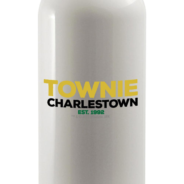 City on a Hill Charlestown Townie 20 oz Screw Top Water Bottle with Straw