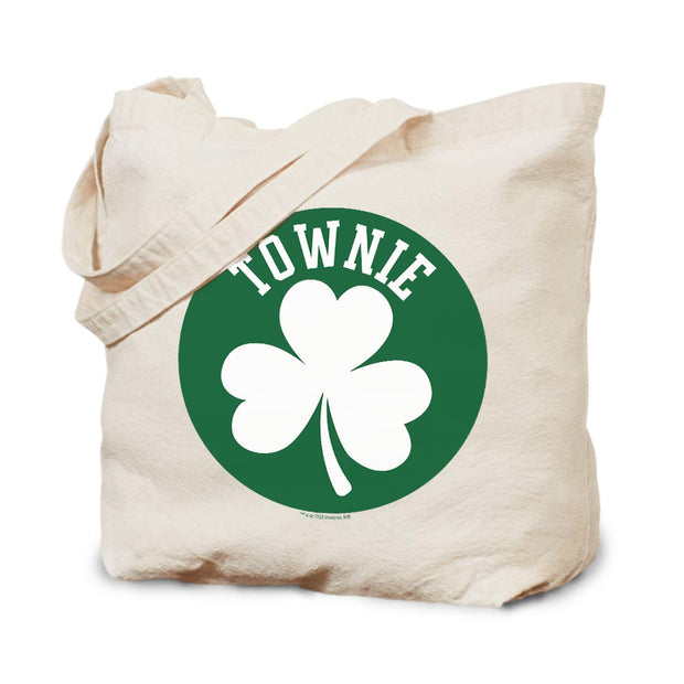 City on a Hill Shamrock Townie Canvas Tote