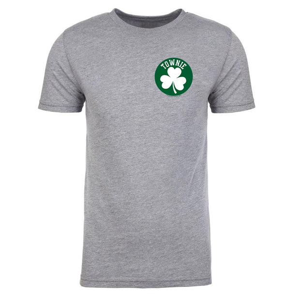City on a Hill Shamrock Townie Men's Tri-Blend T-Shirt