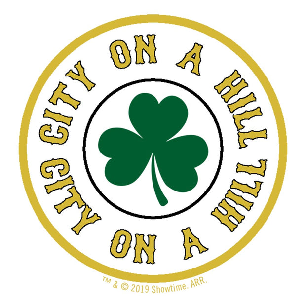 City on a Hill Shamrock Premium Satin Poster