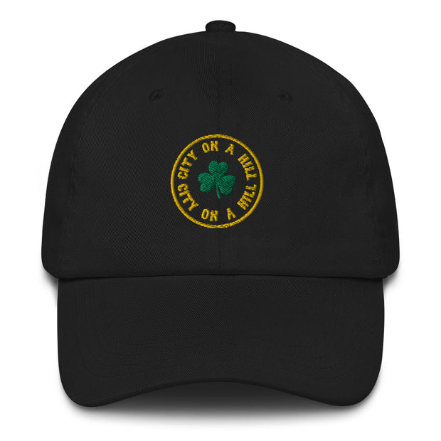 City on a Hill Shamrock Embroidered Hat