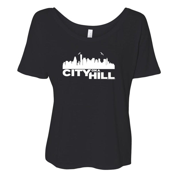 City on a Hill Skyline Women's Relaxed T-Shirt