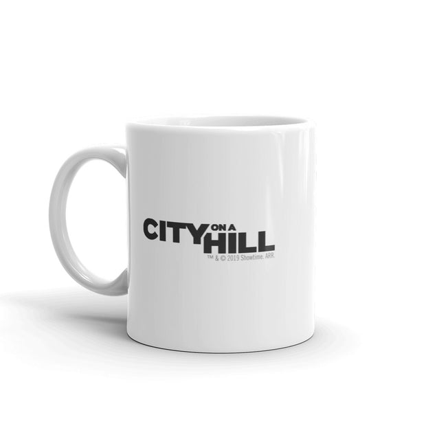 City on a Hill Townie White Mug