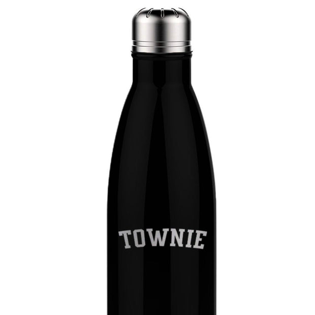 City on a Hill Townie Laser Engraved Slim Water Bottle