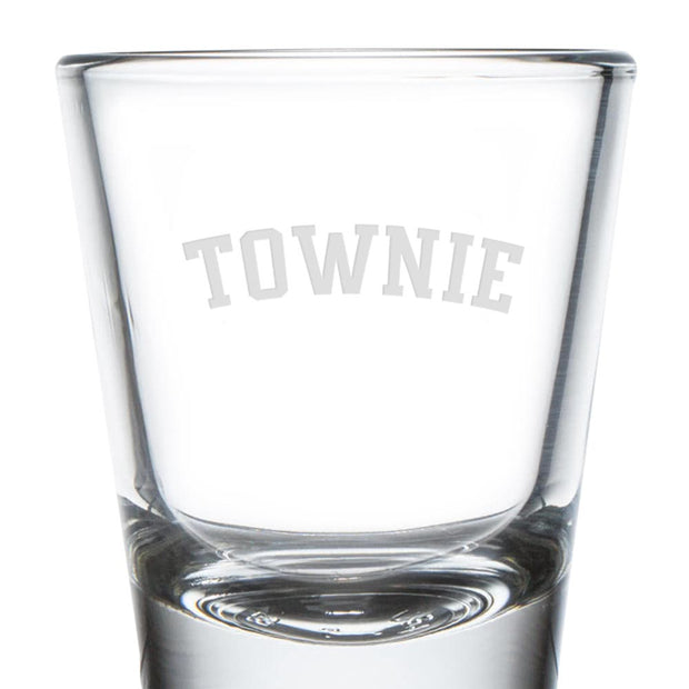 City on a Hill Townie Shot Glass