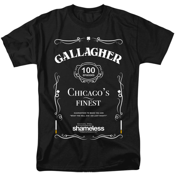 Shameless Chicago's Finest Adult Short Sleeve T-Shirt