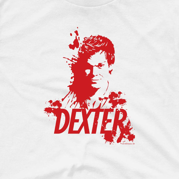 Dexter Blood Spatter Dexter Adult Short Sleeve T-Shirt