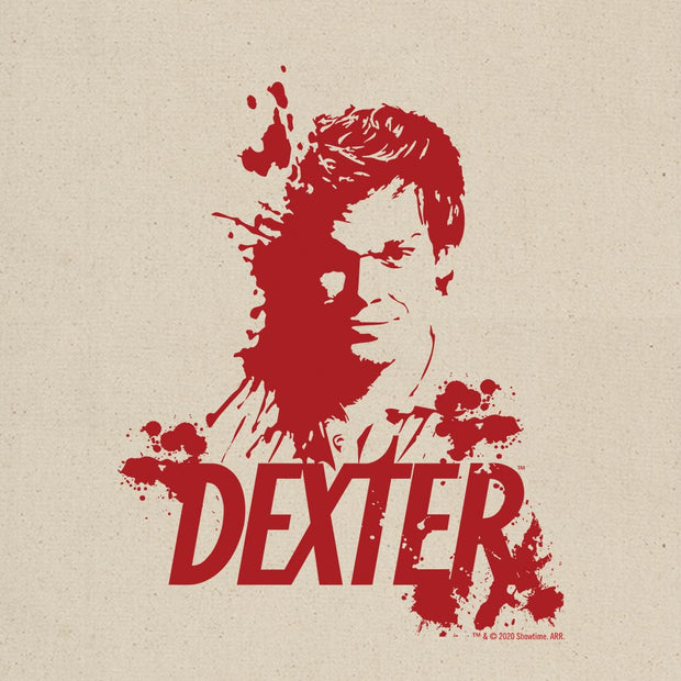 Dexter Blood Spatter Dexter Canvas Tote