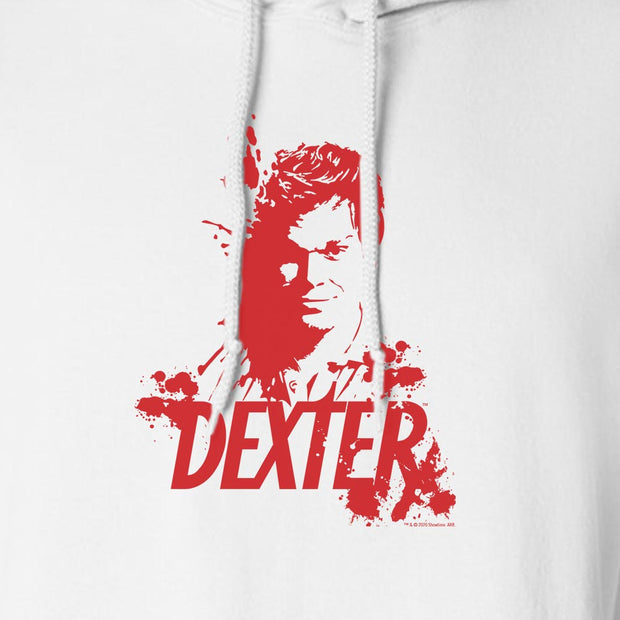 Dexter Blood Spatter Dexter Fleece Hooded Sweatshirt