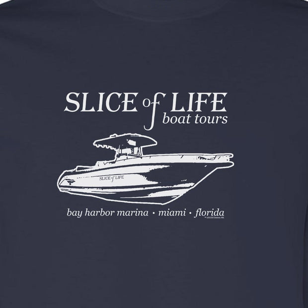 Dexter Slice of Life Boat Tours Adult Long Sleeve T-Shirt