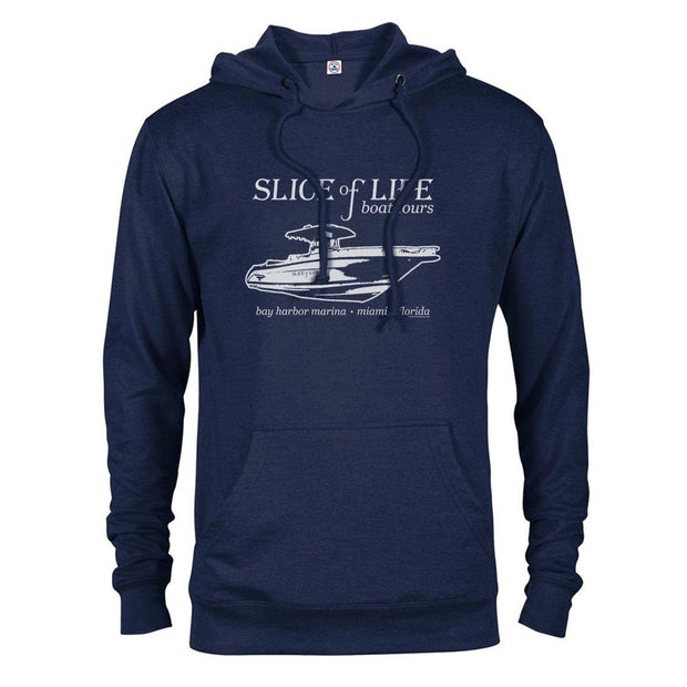 Dexter Slice of Life Boat Tours Lightweight Hooded Sweatshirt
