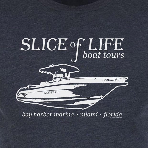 Dexter Slice of Life Boat Tours Men's Tri-Blend T-Shirt