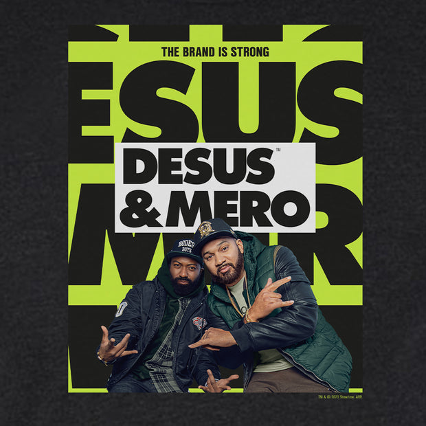 Desus & Mero Season 2 Key Art Men's Tri-Blend T-Shirt