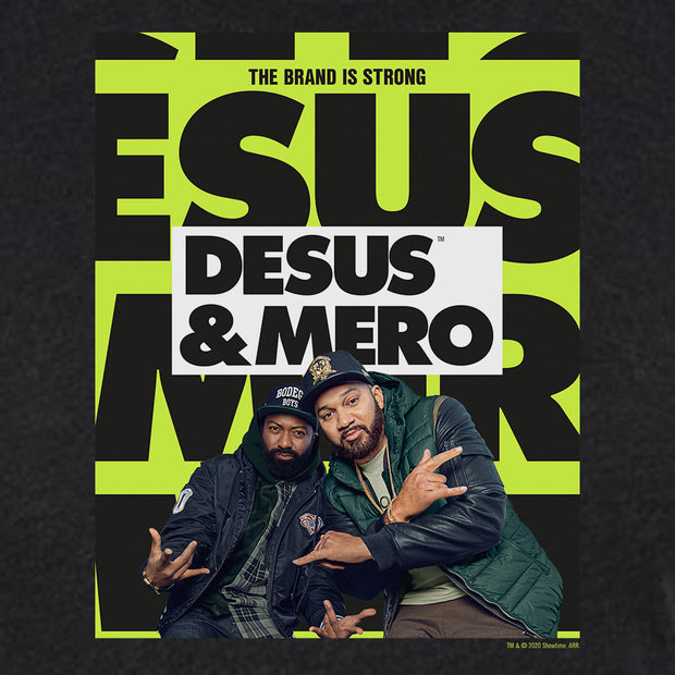 Desus & Mero Season 2 Key Art Women's Tri-Blend T-Shirt